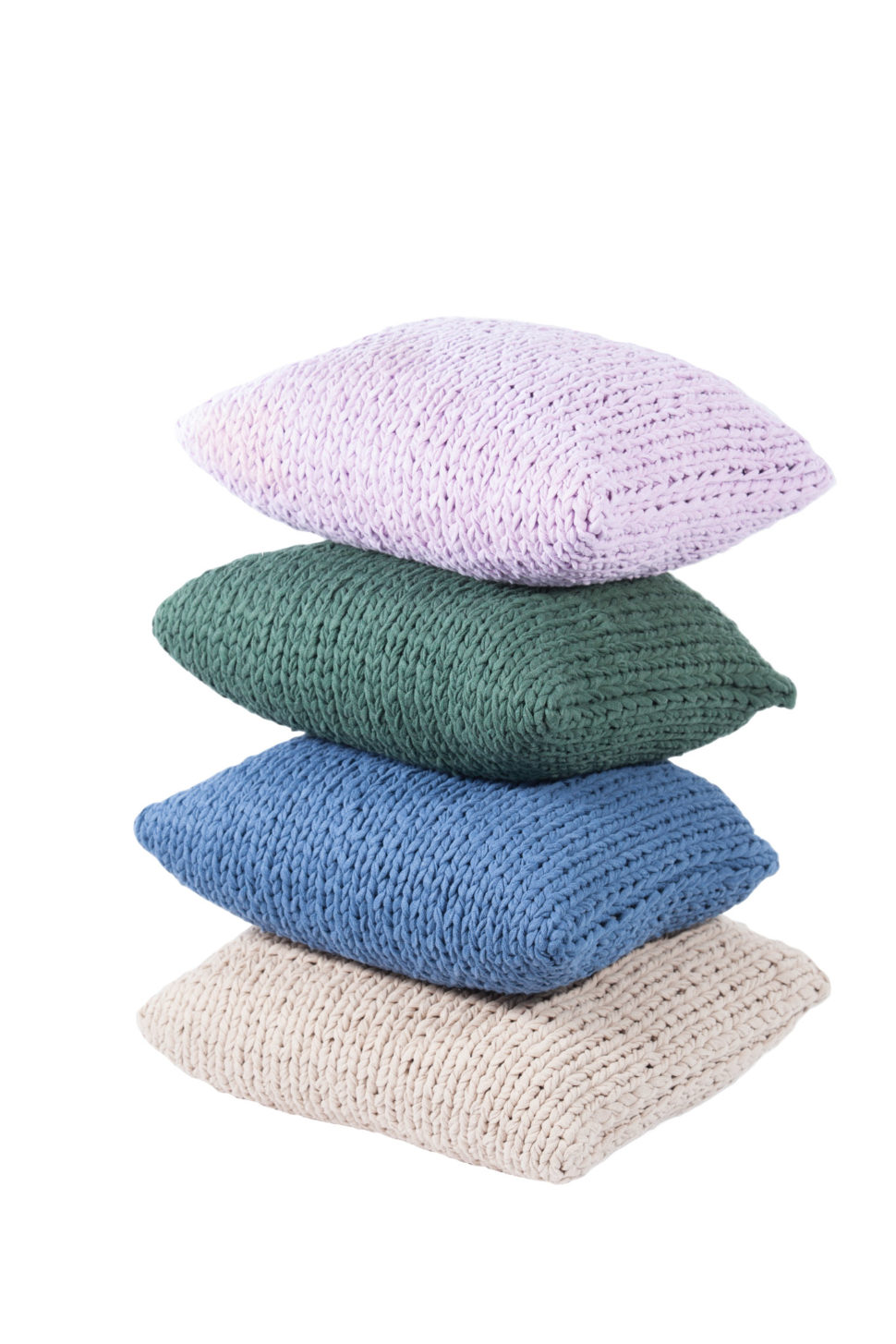 Knitted Pillow Covers Set 2